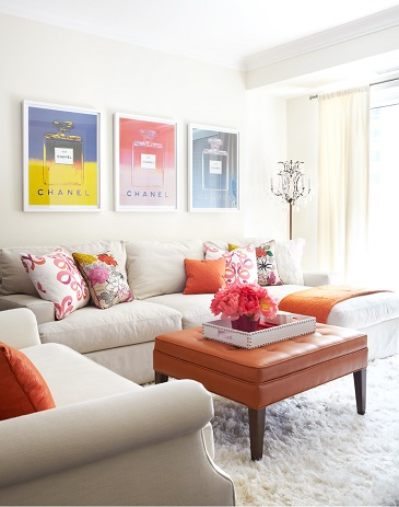 Bright Bachelorette Pad