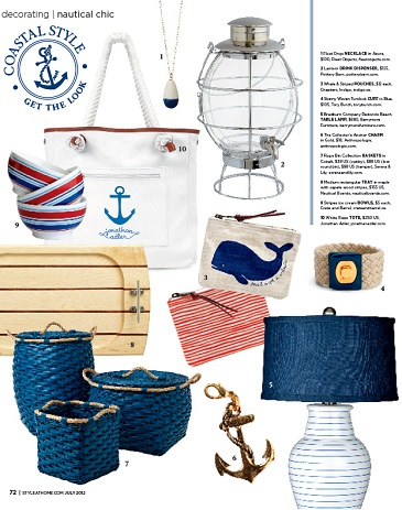 Style At Home - Coastal Round Up