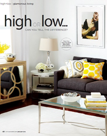 Style At Home - High or Low