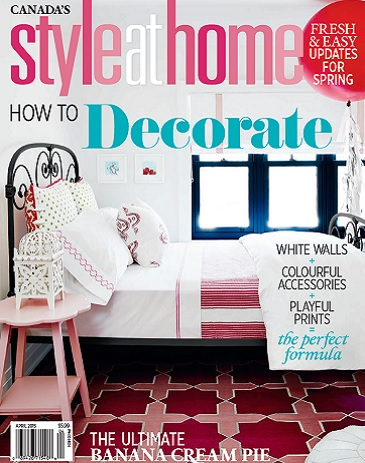 Style At Home April 2015