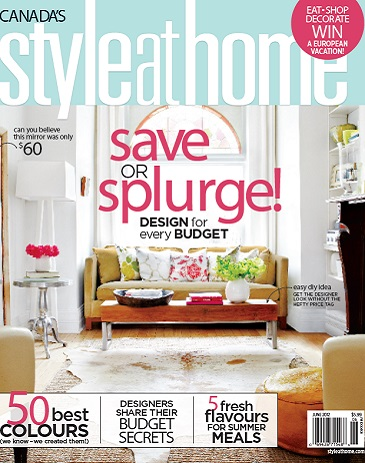 Style At Home June 2012