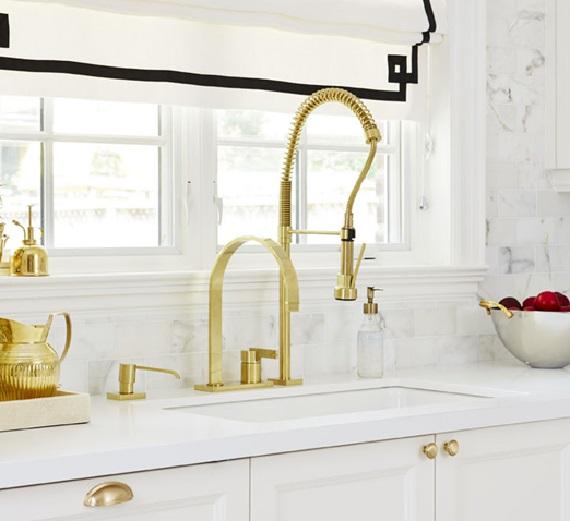 waks style at home - Brass Kitchen Sink